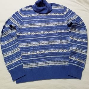 Cashmere Lands' End XS turtleneck sweater